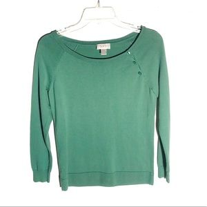 Ann Taylor LOFT long sleeve top size S